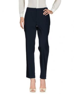 Повседневные брюки KAOS. Цвет: темно-синий