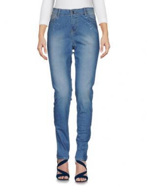 Джинсовые брюки NC.2 Paris. Цвет: синий