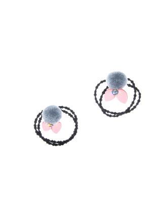 Резинка(2 шт) Bizon. Цвет: серый