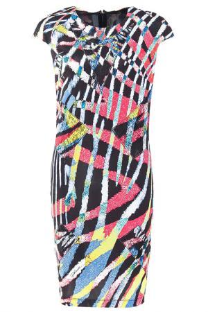 Платье Just Cavalli. Цвет: цветной