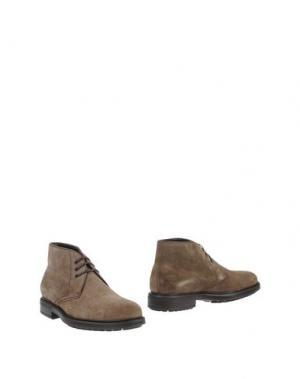 Полусапоги и высокие ботинки PACO MILAN. Цвет: пурпурный