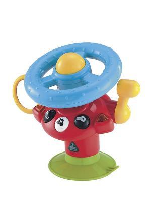 Многофункциональная игрушка Веселый руль ELC. Цвет: красный, зеленый, голубой