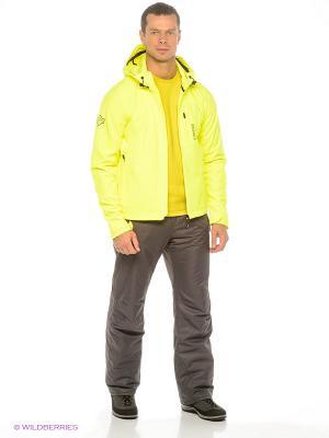 Куртка BRUNOTTI. Цвет: бежевый, желтый