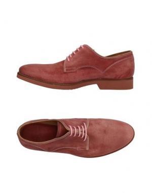 Обувь на шнурках N.D.C. MADE BY HAND. Цвет: пастельно-розовый