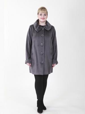 Пальто Марго VIKO. Цвет: темно-фиолетовый