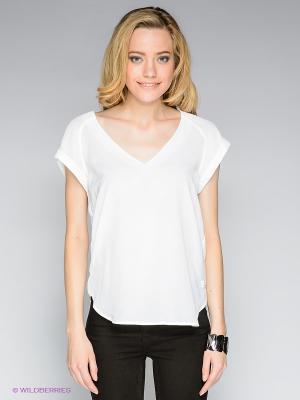 Блузка G-STAR RAW. Цвет: белый, черный