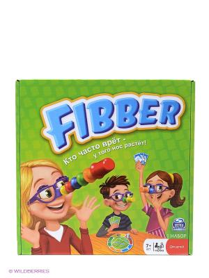 Игра Spin Master настольная FIBBER. Цвет: зеленый