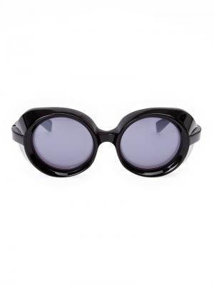 Выпуклые солнцезащитные очки Factory 900. Цвет: чёрный
