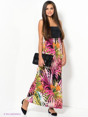 Платье New Look. Цвет: черный, зеленый, малиновый, белый
