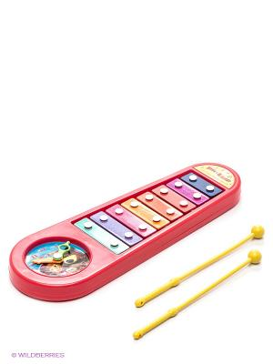 Металлофон Играем вместе Маша и медведь. Цвет: красный, желтый