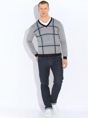 Пуловер VON DUTCH. Цвет: серый
