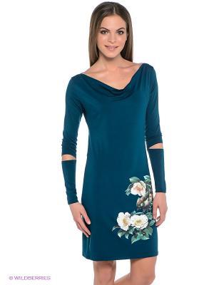 Платье Grishko. Цвет: морская волна