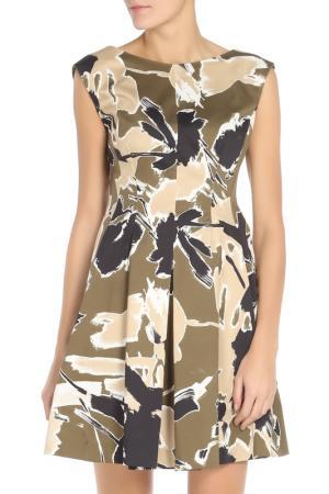 Платье PHILOSOPHY. Цвет: хаки