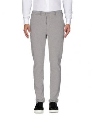 Повседневные брюки CHARAPA. Цвет: светло-серый