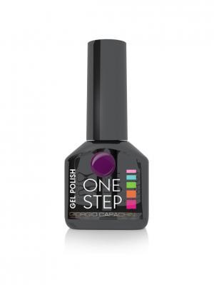 Однофазный гель-лак One Step №69, 6 мл GIORGIO CAPACHINI. Цвет: сливовый