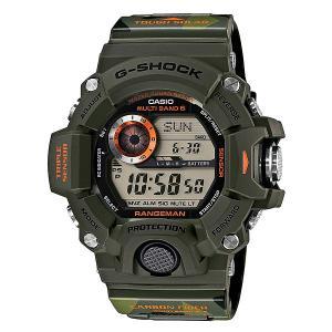 Часы  Gw-9400cmj-3e Green Casio G-Shock. Цвет: зеленый