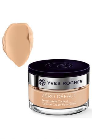 Тональный крем комфорт, 40 мл Yves Rocher. Цвет: розовый