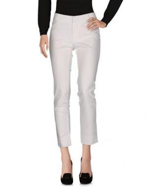 Повседневные брюки RAOUL. Цвет: белый