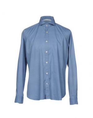 Pубашка NEW ENGLAND. Цвет: лазурный