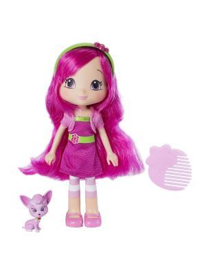 Игрушка Шарлотта Земляничка Кукла Малинка с питомцем, 15 см, кор. The Bridge. Цвет: розовый