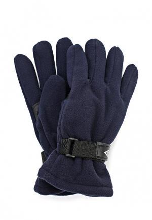 Перчатки Umbro. Цвет: синий