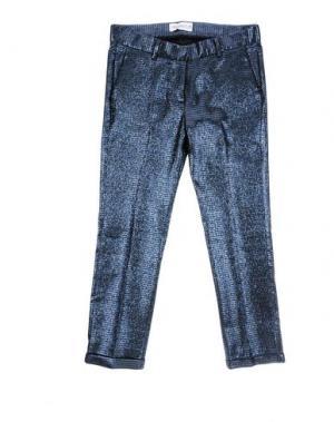 Повседневные брюки SIMONETTA. Цвет: темно-синий
