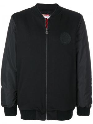 Куртка-бомбер Les Benjamins. Цвет: чёрный