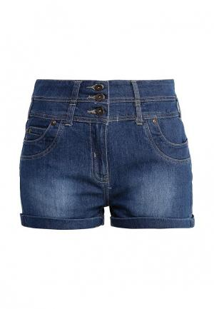 Шорты джинсовые Lucid. Цвет: синий