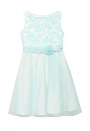 Платье Sly. Цвет: голубой