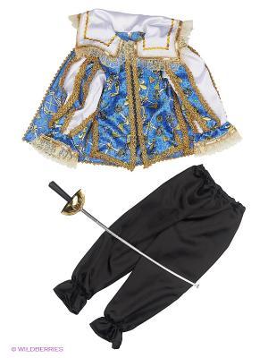 Карнавальный костюм Мушкетер сказочный Батик. Цвет: прозрачный