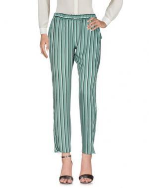 Повседневные брюки HOPPER. Цвет: зеленый