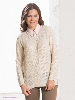 Джемпер Wendy Cable Knit Jeanswest. Цвет: кремовый