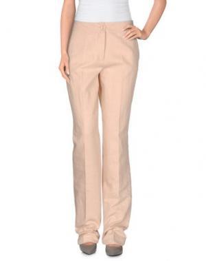 Повседневные брюки NATAN COLLECTION. Цвет: телесный