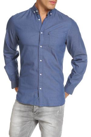 Рубашка LE SHARK. Цвет: синий