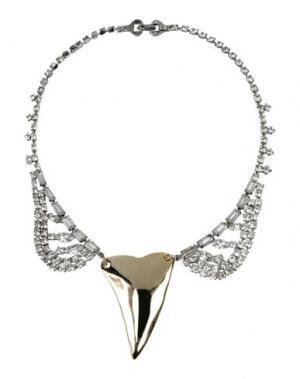 Ожерелье TOM BINNS. Цвет: платиновый