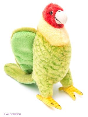 Каролинский попугай, 17 см Hansa. Цвет: салатовый