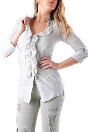 Рубашка Sexy Woman. Цвет: light grey