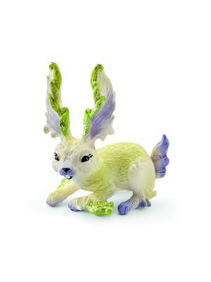 Кролик Сера SCHLEICH. Цвет: светло-зеленый, бежевый, сиреневый