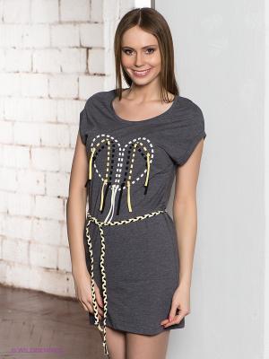 Платье Element. Цвет: серый