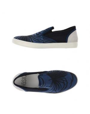 Низкие кеды и кроссовки HŌSIO. Цвет: синий