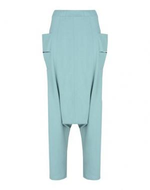 Повседневные брюки Y-3. Цвет: светло-зеленый