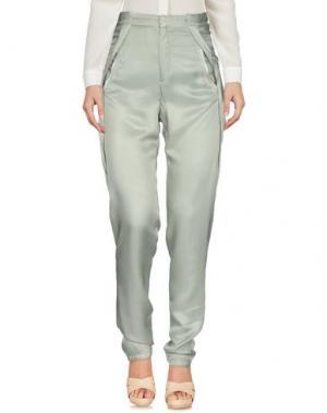 Повседневные брюки GIRL by BAND OF OUTSIDERS. Цвет: светло-зеленый