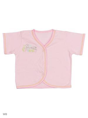 Распашонка Babycollection. Цвет: розовый