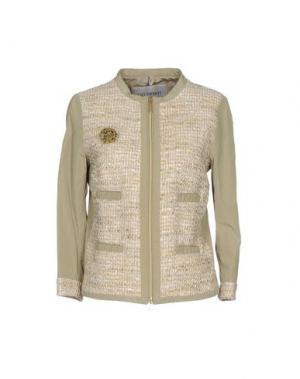 Куртка GEOSPIRIT. Цвет: зеленый-милитари