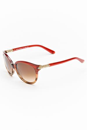 Очки солнцезащитные Lucia Valdi. Цвет: красный