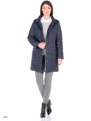 Пальто Snow Guard. Цвет: синий