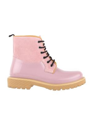 Ботинки MENGHI SHOES. Цвет: розовый