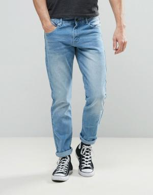 Always Rare Светлые суженные книзу джинсы Clarence. Цвет: синий