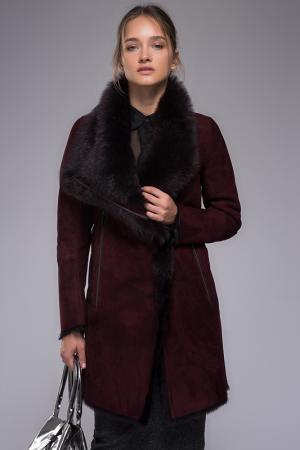 Пальто VESPUCCI BY VSP. Цвет: burgundy