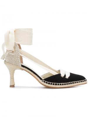 Туфли со шнуровкой Castañer. Цвет: чёрный